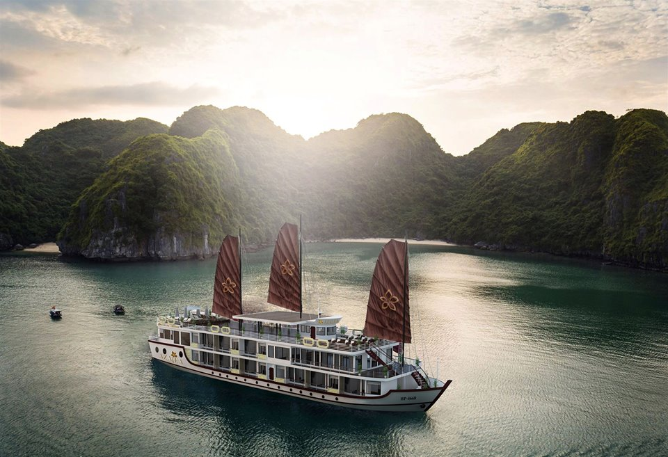 Halong Azalea Cruise 2 days 1 night